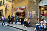 Флоренция: возле булочной