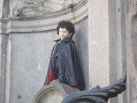 У Manneken Pis много нарядов, Брюссель