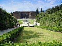 В садах Боболи идеально скрываться от зноя