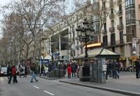 Барселона в январе