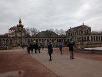 Дрезденский Цвингер в январе