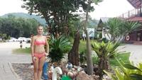 Таиланд, на пляже в Паттайе