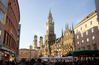 Мюнхен в марте