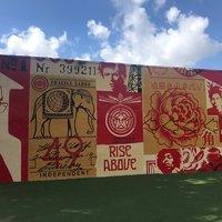 Стрит-арт в районе Винвуд, Майами