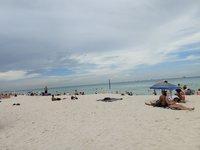 Пляж в парке Lummus