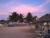 закаты Ямайки в сентябре