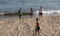 Мексика: на пляже в Акапулько