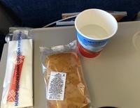 завтрак на борту Аэрофлота