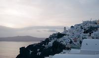 Вид на Санторини
