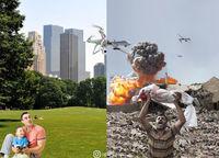 Пугающий контраст двух миров, в которых живет современное человечество