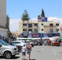 Ларнака: фото на фоне субботнего рынка