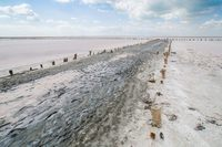 Солёное озеро на Арабатской Стрелке