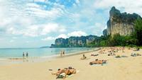 Краби: мой отдых на пляже Рейли