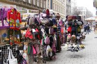 Магазины являются изюминкой улицы Ваци