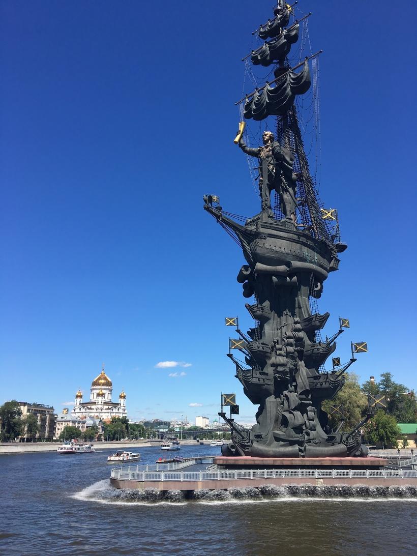 кемпере памятник петру первому в москве фото операцию можете