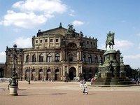 Дрезден: прогулка по центральной части города