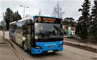 Иматра: вот такие в городе городские автобусы!