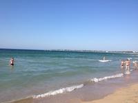 Евпатория: на пляже в мае
