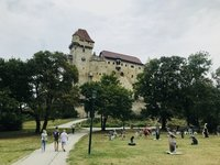 Вена: по дороге в замок Лихтенштейн