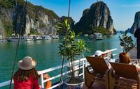 Бухта Халонг, Вьетнам.