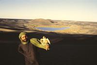 Оазис, засыпанный вулканическим пеплом: самое удивительное место Сахары