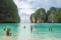 Острова Пхипхи возле побережья Таиланда