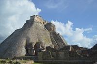 Пирамиды майя. Мексика, декабрь 2017