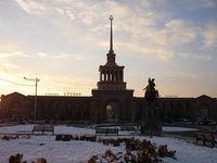 Ереван (Армения) зимой