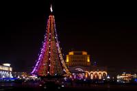Новый год в Ереване (Армения)
