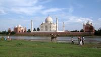 Тадж Махал (Индия), ноябрь