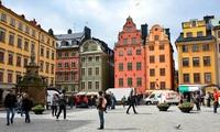 Обманчивое майское солнце Стокгольма