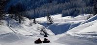 Свободные трассы горнолыжнолого Казахстана в январе.