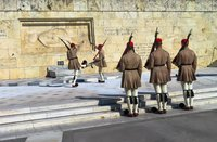 Смена караула эвзонов, Афины 2018