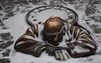 Чумил - самый забавный братиславский памятник