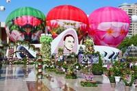 Майский фестиваль цветов в Баку.