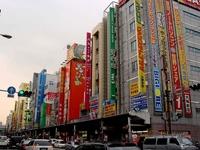На улицах Токио всегда вот такое вот движение!