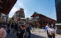 Токио: посещение улицы Накамисэ-дори