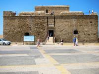 Замок в Пафосе, август 2018