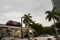 Майами: на улицах города в пасмурный день