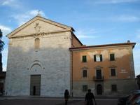 Церковь Сан-Франческо в Пизе, ноябрь 2018