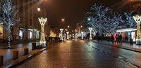 Варшава в ноябре надела новогодний наряд