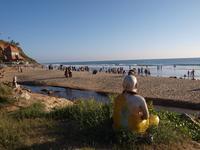 Декабрьский вечер на пляже Папанашам
