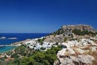 Остров Родос в январе 2019