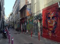 Апрельская прогулка в районе Cours Julien, Марсель