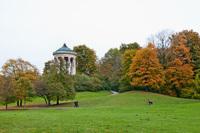 Мюнхен: в Английском саду золотая осень!