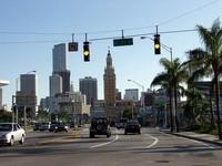 Майами: движение на дорогах города