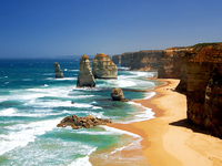 Пляжи Австралии в январе