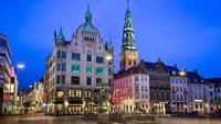 Копенгаген: прогулка по ночному городу