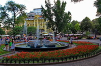 Одесса: прогулка по городскому саду