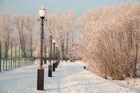 Иркутск зимой
